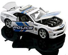 ** OFFERTA SPECIALE ** CHEVROLET CAMARO POLICE 1:18 SCALA DIECAST MODELLO AUTO MODELLI