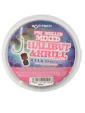 BAIT TECH PRE DRILLED MIXED HALIBUT & KRILL PELLETS