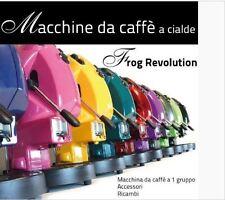 MACCHINA CAFFE DIDIESSE FROG REVOLUTION 2017 CIALDE CARTA 44MM+10 CIALDE OMAGGIO