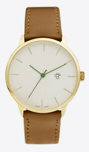 Chpo Brand Watch Armbanduhr Uhr Nawroz Gold Brown Skateistan Vegan & PETA