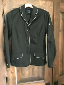 Horze Crescendo english soft shell hunt coat show jacket - M - WORN TWICE