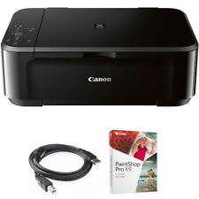 Canon Pixma Wireless Inkjet All-In-One Multifunction Printer w/Paint Shop Bundle
