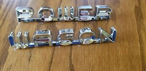 61 62 63 64 65 66 67 68 Dodge Truck Power Wagon Hood Emblems 1961 1962 1963 1964