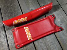 OLD SCHOOL BMX MX HANDLEBAR PAD QUILL STEM PAD NOS RED COLOR BMX