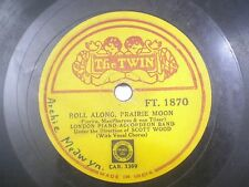 "LONDON PIANO ACCORDEON BAND FT 1870 INDIA INDIAN RARE 78 RPM RECORD 10"" VG"
