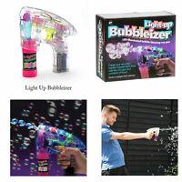 Funtime Children Kids Adults Outdoor Garden LED Light Up Shooter Bubbleizer