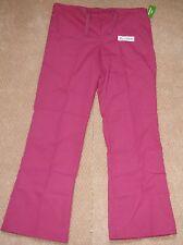 White Swan Women Drawstring Scrub Pant W/ Slash Pockets Style 14136 Size Small