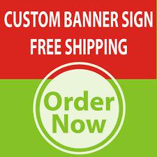 8' x 10' Custom Full Color Banner High Quality Vinyl