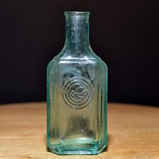 Vintage Colgate & Co.  perfume bottle embossed on front #2