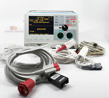 ZOLL M Series Biphasic 3 Lead ECG SpO2 NIBP EtCO2 Pacing AED Biomed Certified