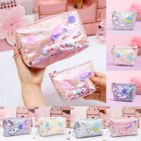Cosmetic Makeup Bag Toiletry Case Hanging Pouch Wash Organizer Storage Travel CA