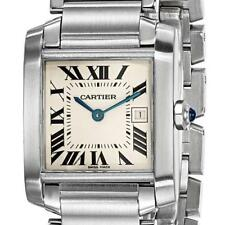 Certified Pre-Owned Cartier Tank Francaise Midsize Stainless Steel 25x30mm Watch
