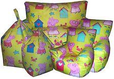 Peppa Pig Seaside Childrens Character Bean bags, Bean Chair, Kids Beanbag Sofa's