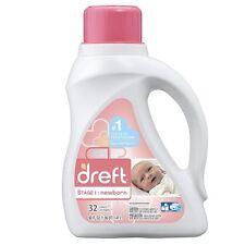 Dreft Stage 1: Newborn Liquid Laundry Detergent 50 oz