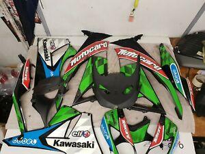 Kawasaki 2010 - 2013 Zx6r Ninja Fairing Set / Body Kit motocard