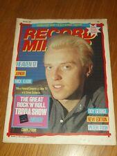 RECORD MIRROR APRIL 30 1983 SPANDAU BALLET BOY GEORGE THE BEAT HEAVEN 17