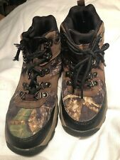 Ozark Trail Youth Camo Hiker/Boots/Shoes, Size US 13 Lace Up