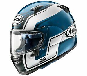 NEW Arai Profile-V Bend Full Face Motorcycle Helmet - Blue from Moto Heaven