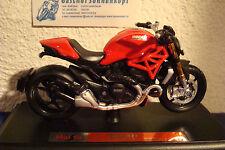 Ducati Monster 1200  ROT  1:18 Maisto