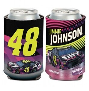 Jimmie Johbson #48 2020 Ally Can Cooler Koozie Free Ship Instock