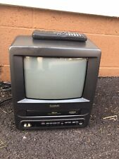 Symphonic 9in Portable TV VCR Combo VHS