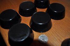 6 all black quartz crystal Orgone energy TBs for EMF protection improved sleep