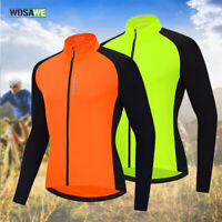 Men's Pro Cycling Jersey Long Sleeve MTB Team Bike Riding Sports Tops Quick Dry