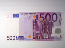 500 euro banknote 2002 - X Germany - sign. Trichet