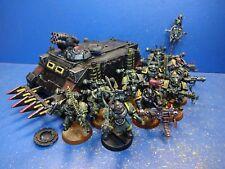 Caos Rhino + 10 caos marines del caos Space Marines