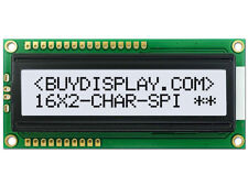 5V Black White 16x2 Character LCD Module Display/Tutorial,Serial SPI/Parallel