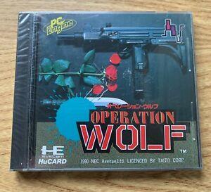 Operation Wolf PC Engine New Sealed NTSC NEC