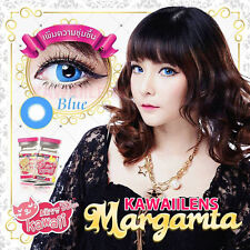 Kontaktlinsen Contact Lenses Color Big Eyes Makeup Circle Lens Margarita Blue