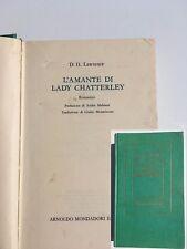 Lawrence David Herbert L'AMANTE DI LADY CHATTERLEY libri romanzo entra e leggi