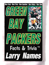 WISCONSIN: GREEN PACKERS FACTS & TRIVIA-HISTORY-STATS- BY LARRY NAMES-ILLUS PB