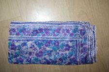 Blumen-Paisleymuster Damen-Schals & -Tücher aus 100% Seide