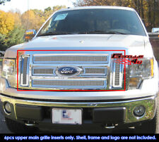 Fits 2009-2011 Ford F150 XL/SLT/STX  Mesh Stainless Main Upper Grille