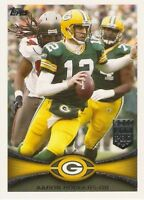 2012 Topps Football Card #s 1-240 +Rookies (A1481) - You Pick - 10+ FREE SHIP