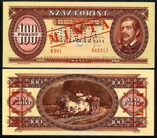 HUNGARY 100 FORINT 1993 SPECIMEN P174s1 UNCIRCULATED