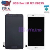 For LG Tribute 5 K7 LS675 K330 MS330 Screen LCD Display Touch Digitizer+Frame US