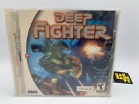 Deep Fighter (Sega Dreamcast, 2000) Brand New. FACTORY SEALED
