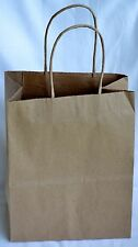 Duro Tempo Shopping Bag 60# 100% Recycled Natural Kraft 24 PK 8 x 4.5 x 10.25