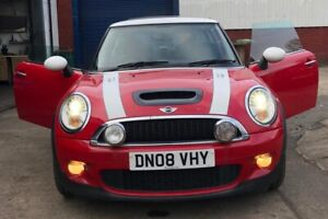 2008 MINI COOPER S SUPERCHARGED 89K S/HISTORY MOT NOVEMBER  TWIN SUNROOFS