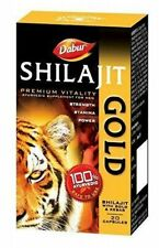 2 x Dabur Shilajit Gold for strength, stamina & power for MEN - 20 capsules/Pack