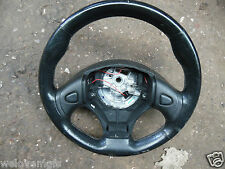 MGF MGTF MG TF Black Leather Steering Wheel