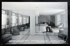 Vintage Postcard Alverno College Corona Hall Lounge Milwaukee Wisconsin RPPC