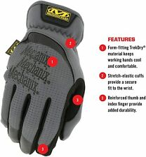 Mechanix Wear Medium FastFit Gloves, Grey Brand New
