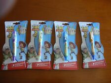 4 Ballpens Inoxcrom Toy Story 3 Disney Pixar, new packaged