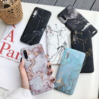For Xiaomi Mi 9 8 Lite Redmi Note 8 7 Shockproof Ink Marble Hard PC Cover Case