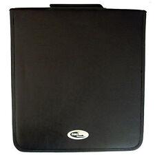 1 x Neo Media 500 capacità CD DVD RACCOGLITORE AD ANELLI Wallet Leather Storage CARRY CASE