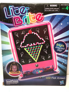 Lite Brite ~ LED Flat Screen~ WITH PEGS AND STENCILS